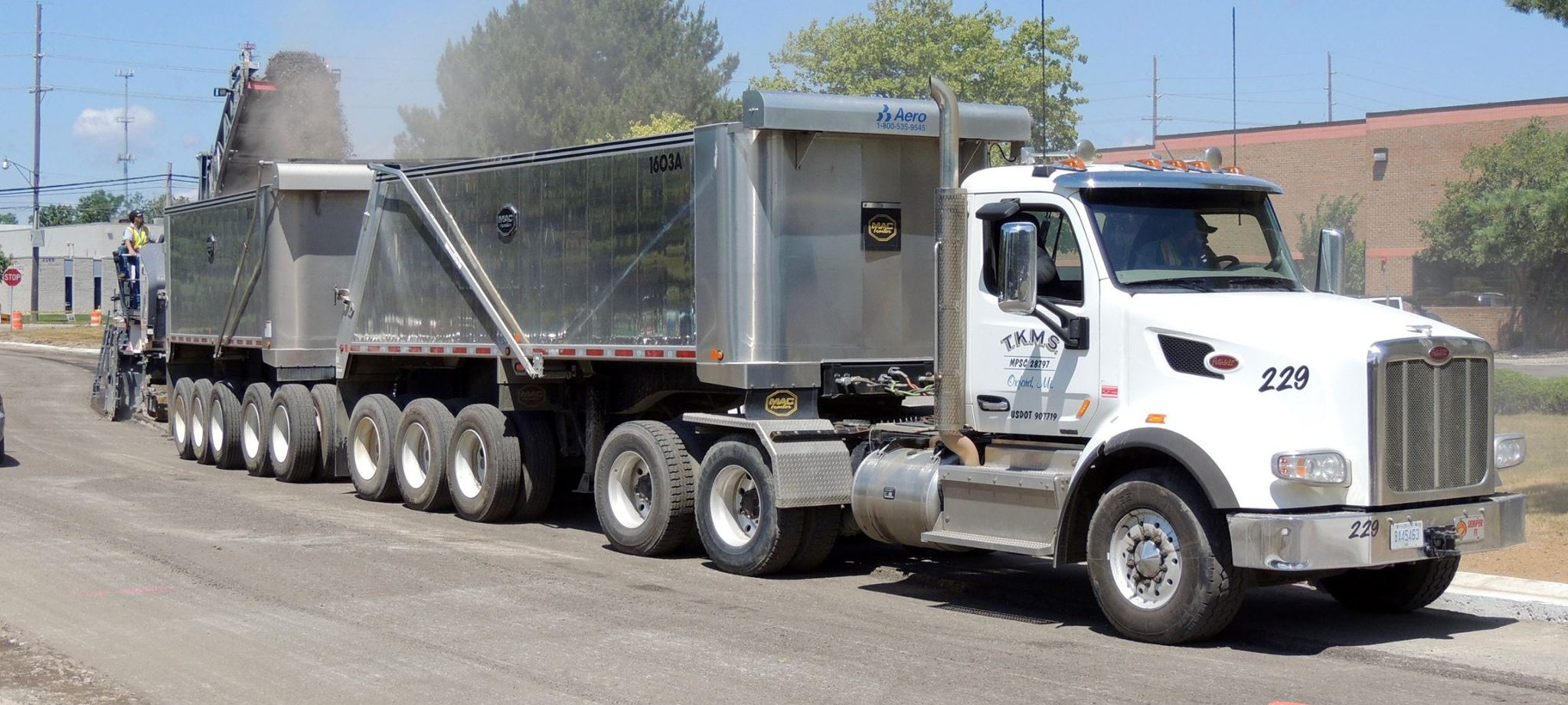 Tkms Is Hiring Class A Drivers In Milford Flat Rock And